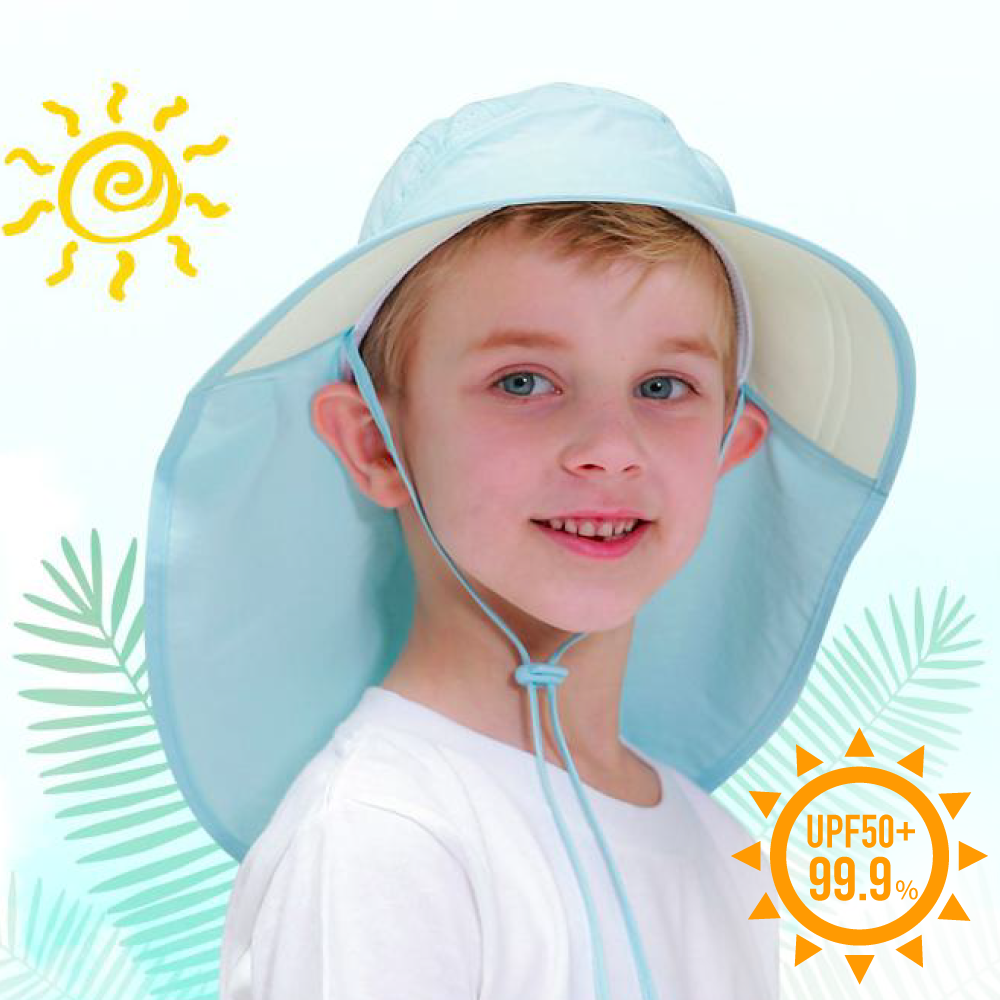 阻擋夏日豔陽必備!UPF50+ 機能遮陽帽、泳帽|韓國 Beachboom