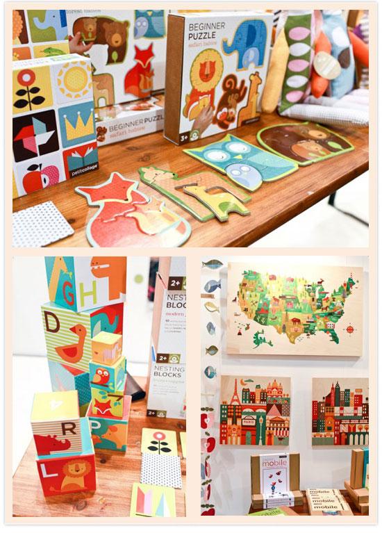 美國 Petitcollage 的童話繪本風益智玩具