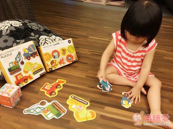 美國 Petitcollage 益智玩具 初階拼圖