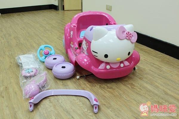 Hello Kitty 兒童電動車