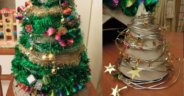DIY自製聖誕樹之我們家的第一棵聖誕樹