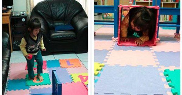 家中素材當教具,感覺統合輕鬆在家玩!