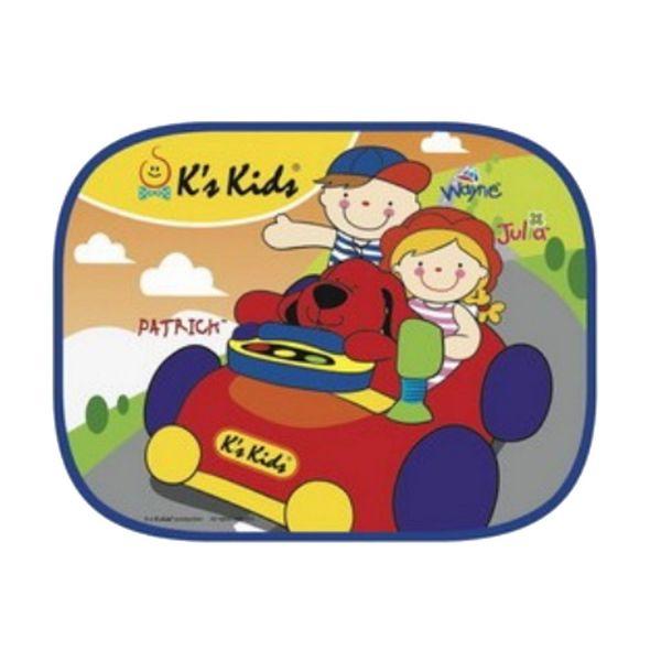 K's Kids可愛汽車側窗遮陽板