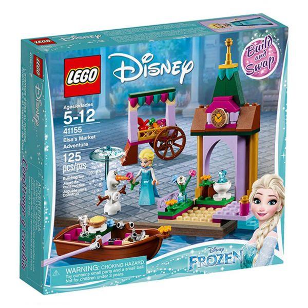 樂高 LEGO - 【LEGO樂高】迪士尼公主系列 41155 冰雪奇緣 艾莎的市場奇遇