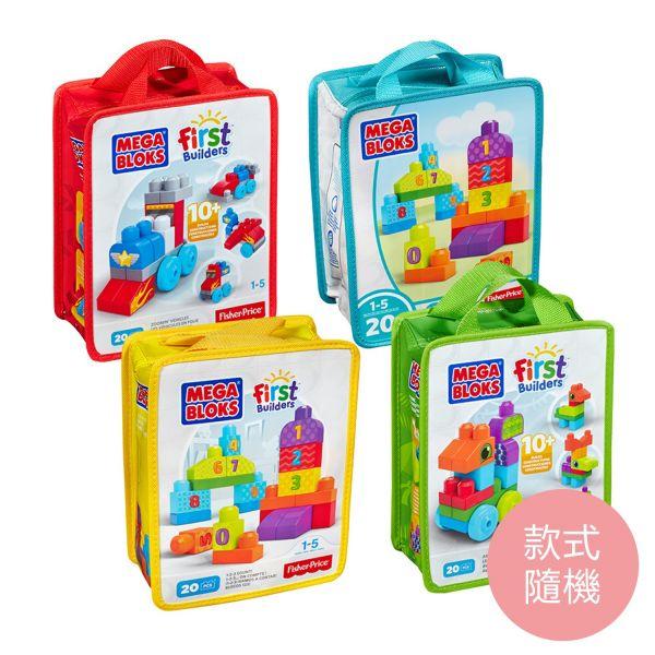MEGA BLOKS - 美高趣味學習積木袋(四款隨機出貨)