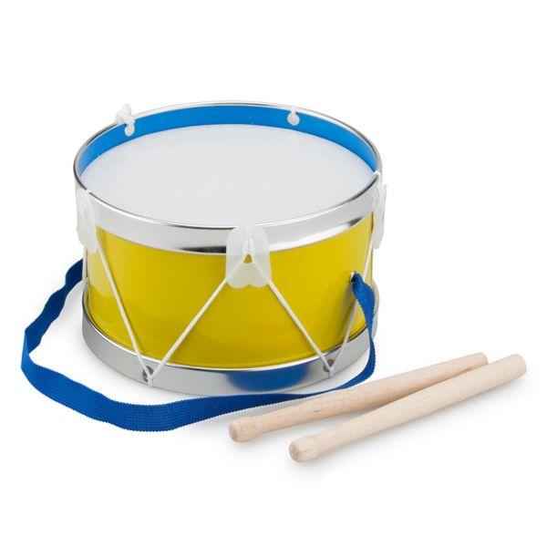 荷蘭 New Classic Toys - 幼兒音樂鼓-琥珀黃