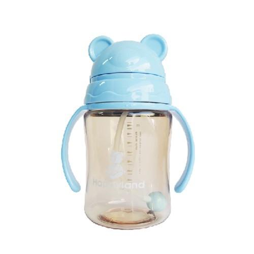 韓製 HAPPYLAND Tritan 防脹氣十字孔自動果汁杯