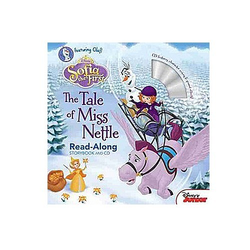 Hachette-迪士尼系列CD有聲書-Sofia the First:The Tale of Miss Nettle 小公主蘇菲亞:Nettle小姐的冒險