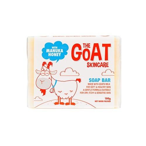 澳洲 THE GOAT SKINCARE-純手工山羊奶皂-麥盧卡蜂蜜-100g