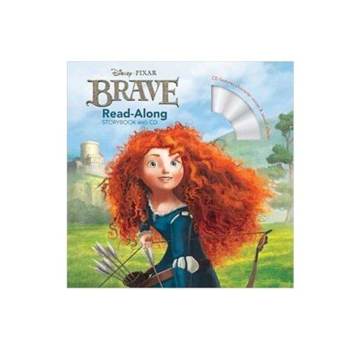 Hachette-迪士尼系列CD有聲書-Brave 勇敢傳說