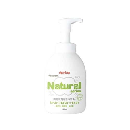 自然系列-嬰兒滋潤泡泡沐浴乳