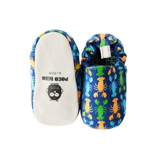 英國 Poconido - 寶寶手工鞋-小龍蝦