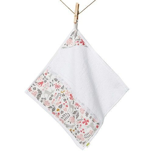 韓國WOW-手工手巾-粉色小鹿 (31*31cm)