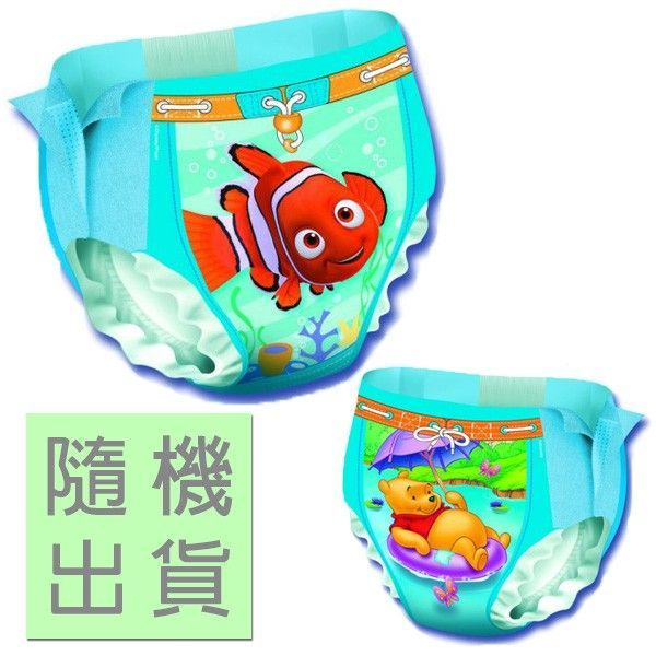 Little Swimmers游泳尿布1入