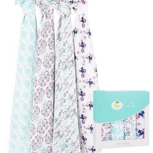 Muslin純棉包巾(4入組)