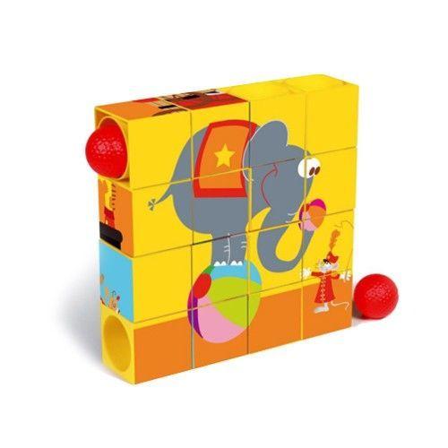 馬戲團滾球拼圖方塊