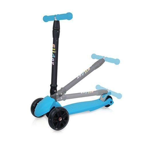 Slider 滑來滑趣 - 兒童三輪折疊滑板車XL1-淺藍