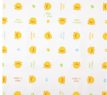 黃色小鴨防水尿墊觸感輕柔、吸水性佳