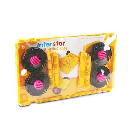 interstar 以色列建構積木:工作台及大輪子