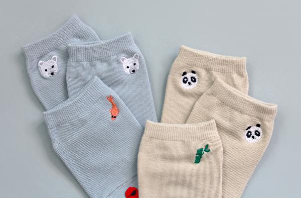 韓國 Kokacharm 造型童襪