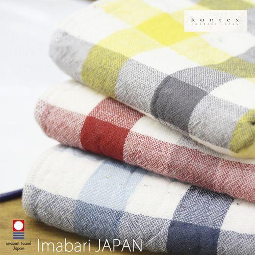 【日本製Kontex】100%純棉毛巾✕頂級今治認證毛巾