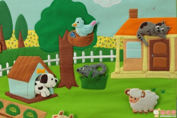 農場動物掛圖