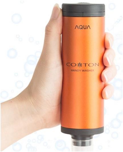 日本製 AQUA COTON 掌上型手持洗衣機