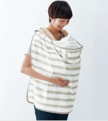 日本 Benesse ✖ Urban Research Doors合作款 5way 推車蓋巾:條紋