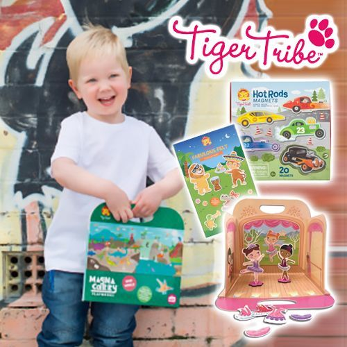 澳洲【Tiger Tribe】外出玩具✌棒到媽媽都想包整套啦!
