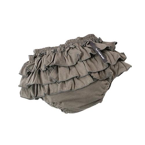日本 PLATINUM BABY 日本製純天竺棉三層波浪屁屁裙褲