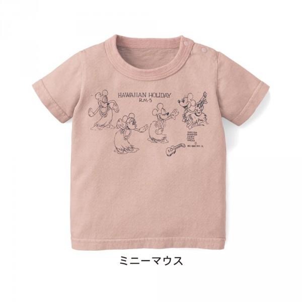 日本製天竺棉寶貝迪士尼短袖上衣