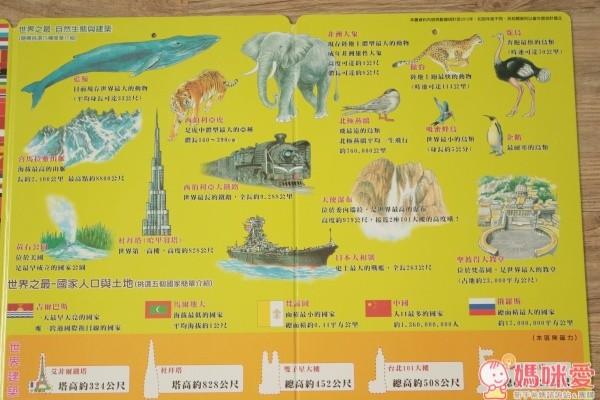 世界印象地圖磁鐵書(夜光版)