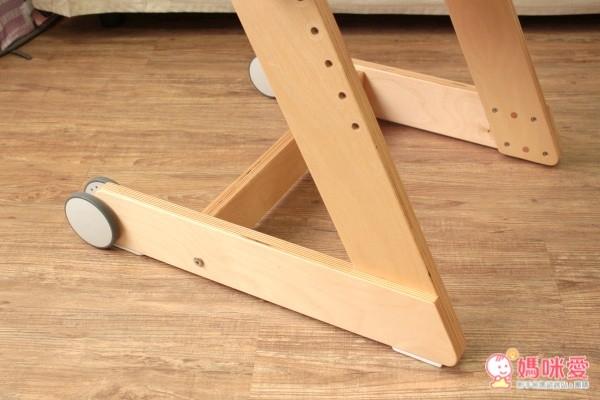 大將作Qmomo實木成長餐椅