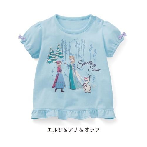 天竺棉蝴蝶結公主袖T恤