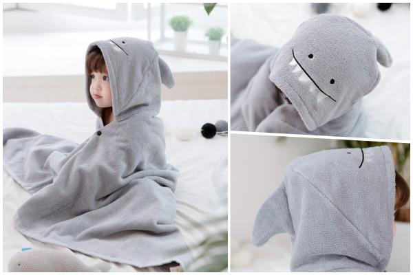純棉造型浴巾袍