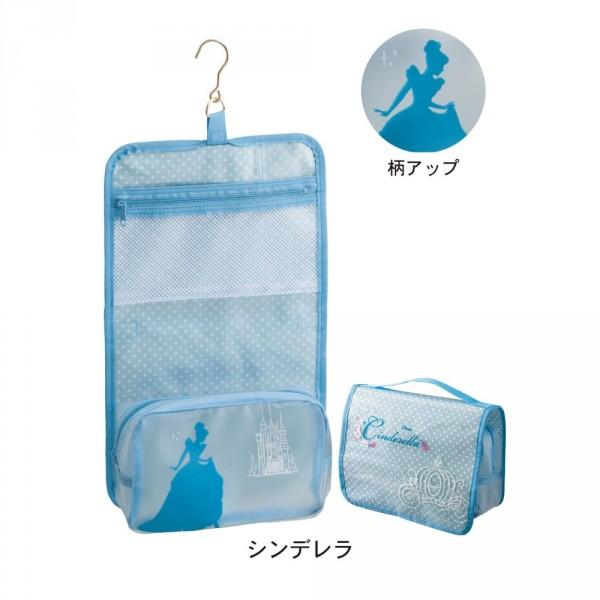 日本製迪士尼衛浴用品收納吊掛袋(附掛勾)