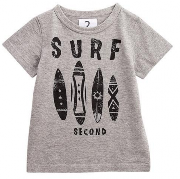 JEANS-b 2nd 純棉 SURF 短袖 T 恤