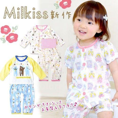 【日本 Milkiss】夏季兒童家居服★出清優惠價