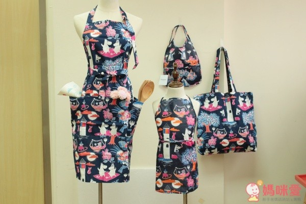 嚕嚕米家居服飾系列➤圍裙、圍兜、浴袍、購物袋