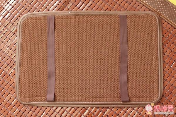 【別竹坊】冰舒專利棉織帶可拆洗 3D 炭化麻將涼蓆系列