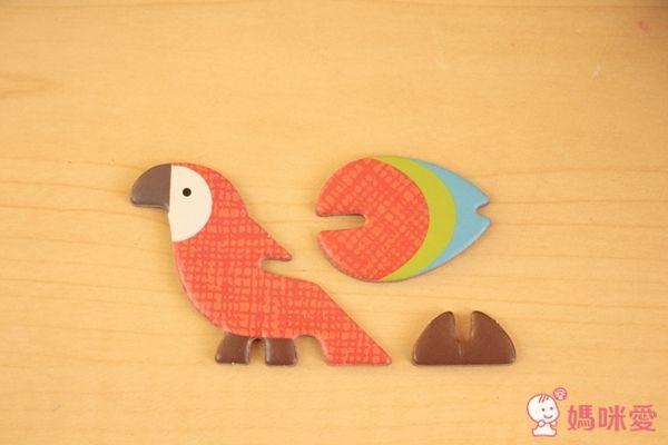 Petit Collage 立體組裝拼圖豪華版 世界動物