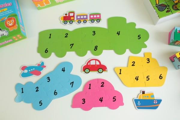 人類智庫:可愛大拼圖 (適用年齡 2 歲以上)