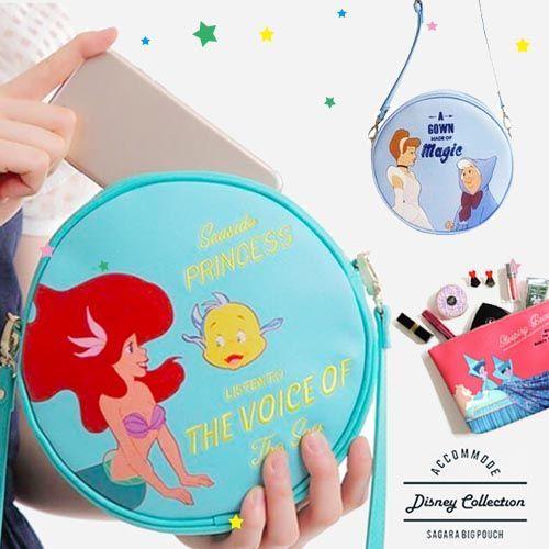 日本ACCOMMODE✕迪士尼隨身包包 / 化妝包