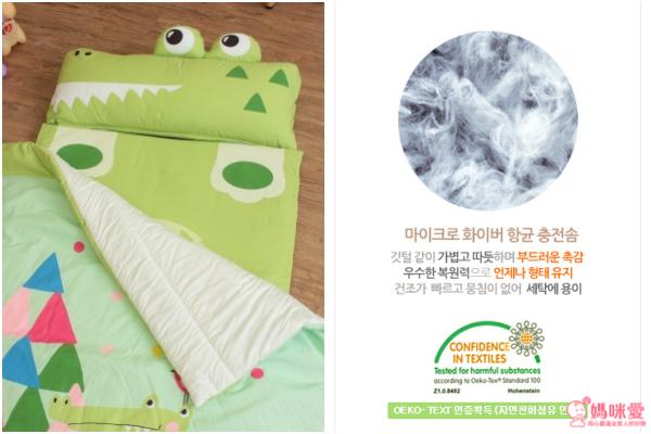 【韓國 Bonitabebe】可愛動物造型防蟎睡袋