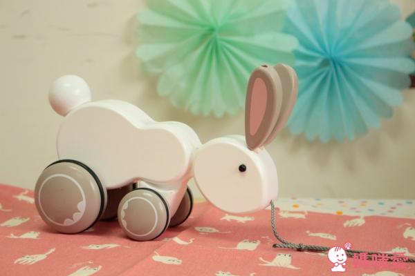 我的兔子拉車