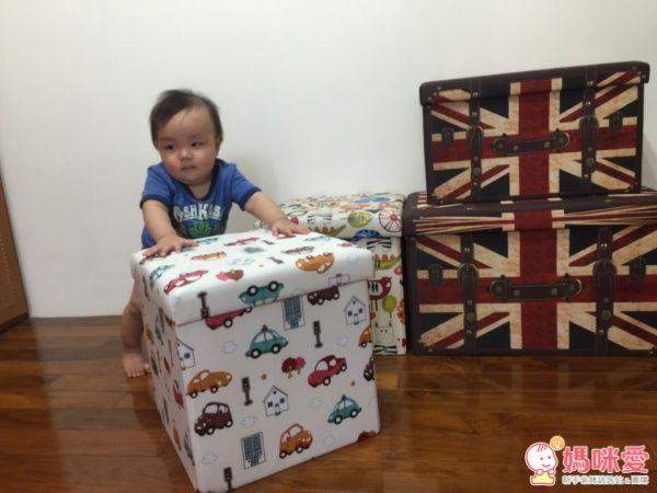 【isufu 】可愛座椅收納箱