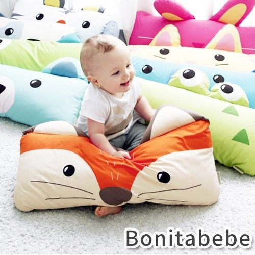 韓國 Bonitabebe 動物好朋友枕頭 ♥ 防蟎抗菌❗熱銷好評免運中❗