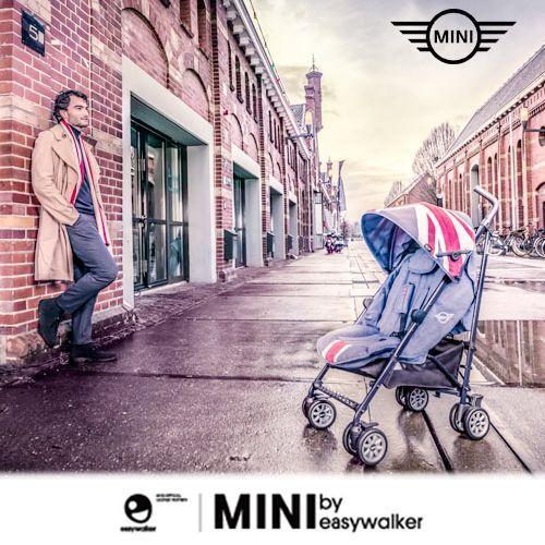 荷蘭 easywalker ✕ MINI Buggy 聯名款 可平躺型嬰幼兒手推車/傘車