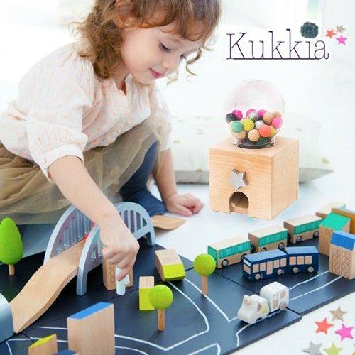 日本 Kukkia 精緻木質益智玩具♛是創意玩具,也是時尚擺飾!