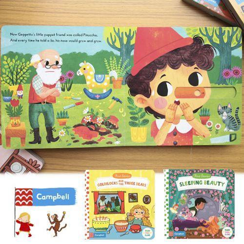給寶貝的第一套英文書★【英國Campbell】First Stories童話故事英文版
